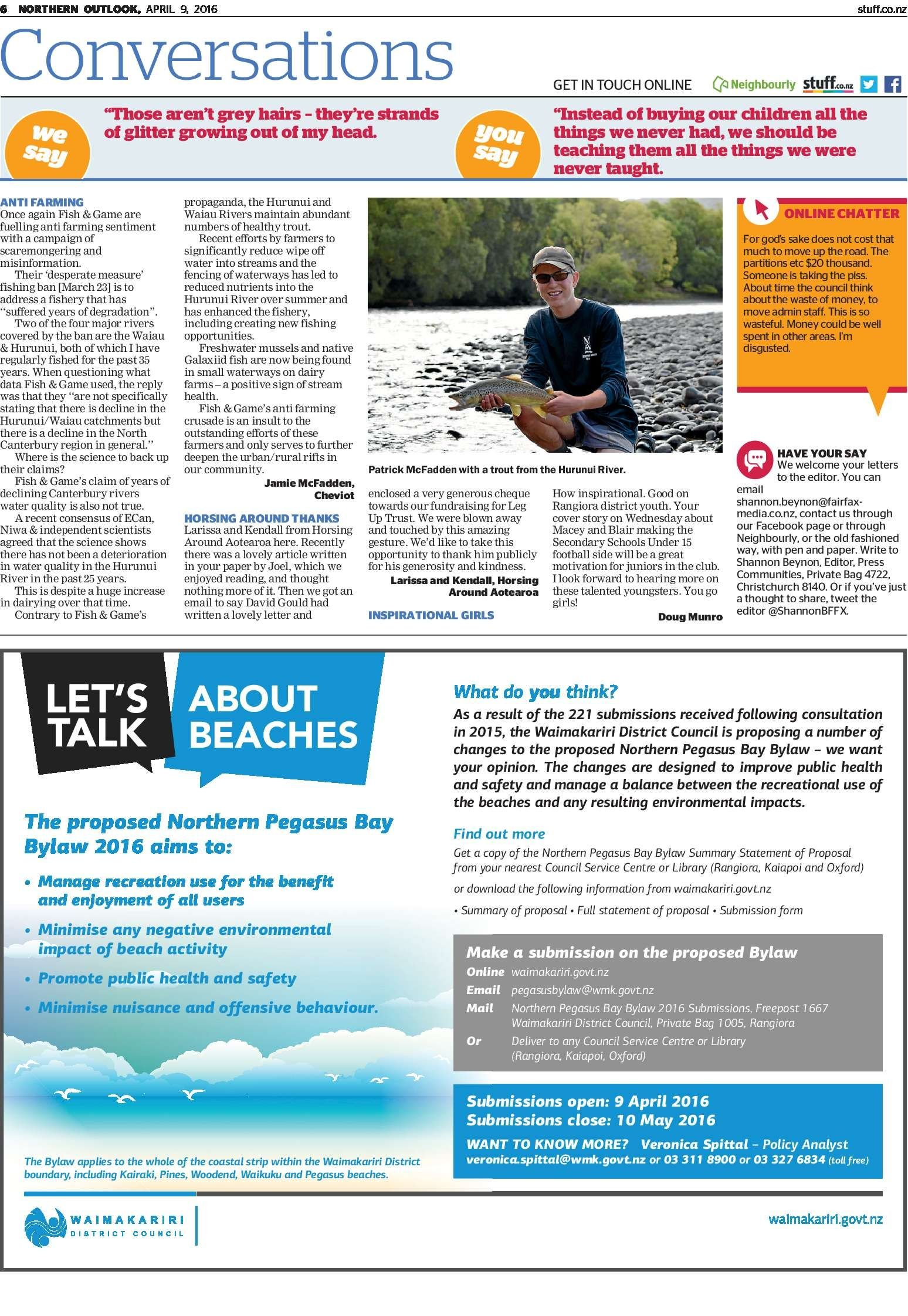 Northern Outlook - Read online on Neighbourly