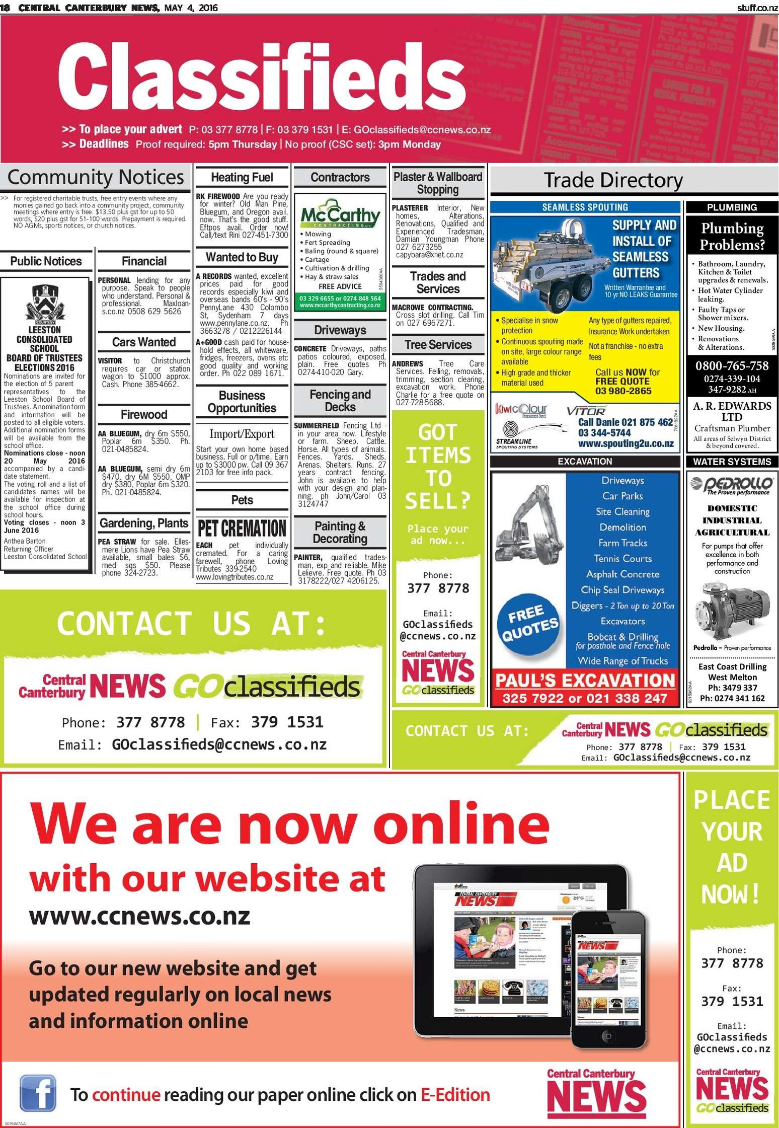 Central Canterbury News - Read online on Neighbourly
