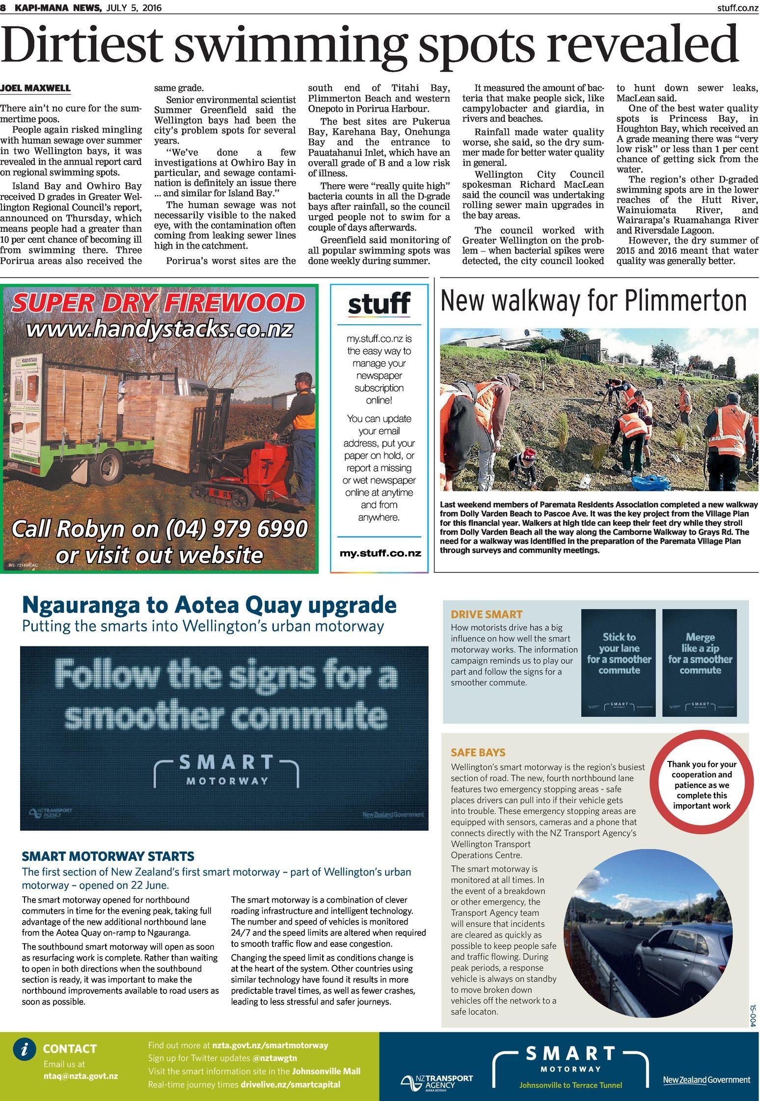 Kapi-Mana News - Read online on Neighbourly