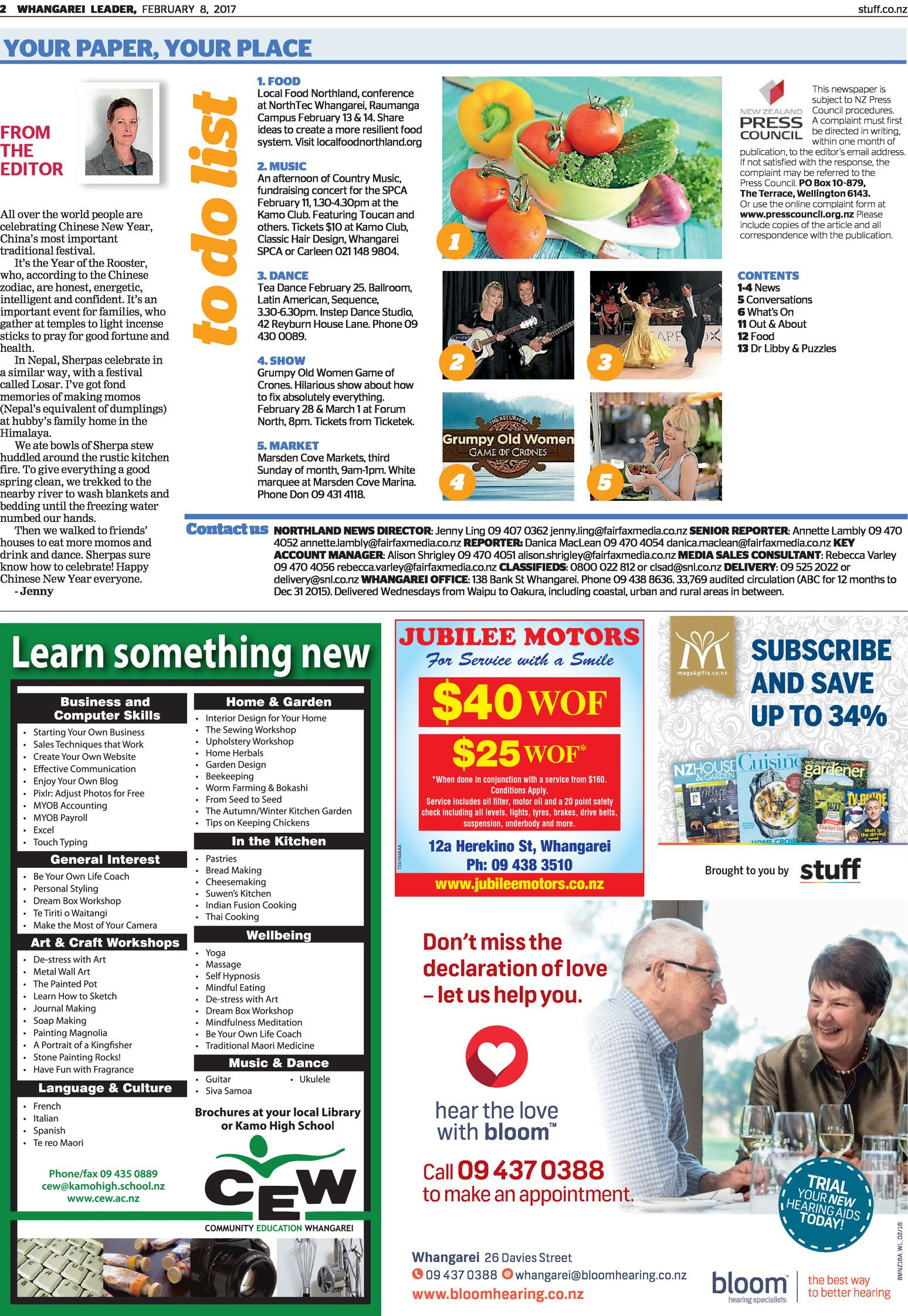 Whangarei local newspaper