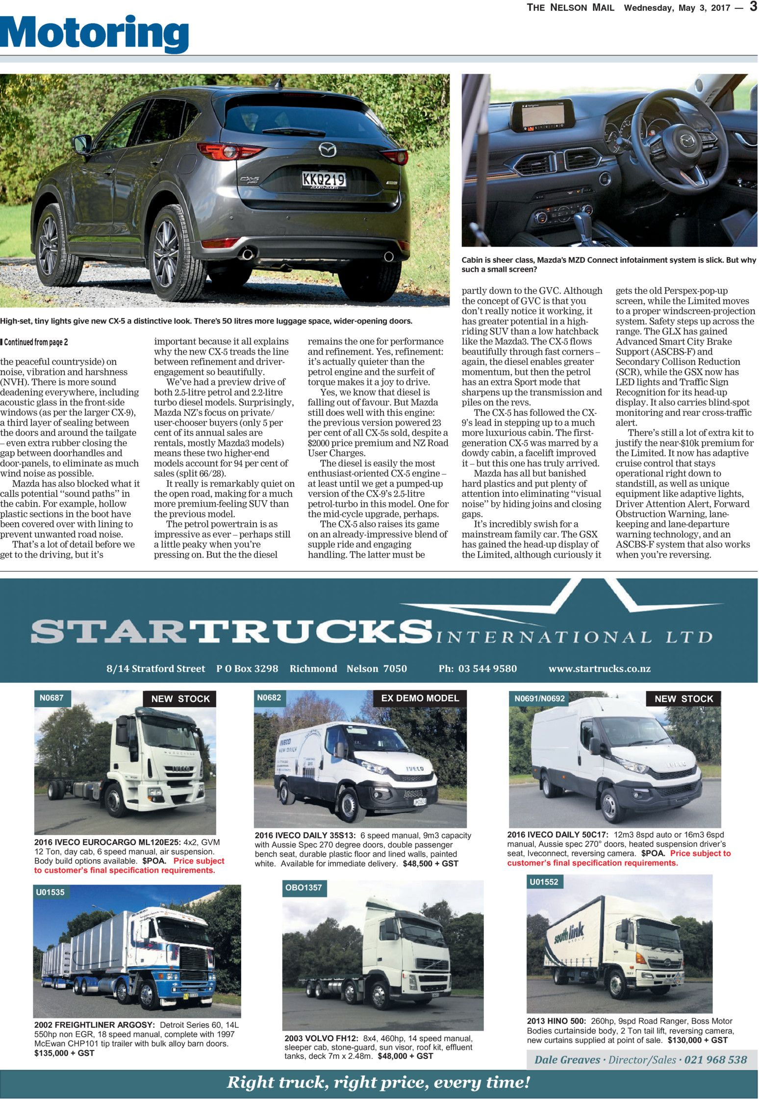 Motoring Plus Nelson Mail - Read online on Neighbourly