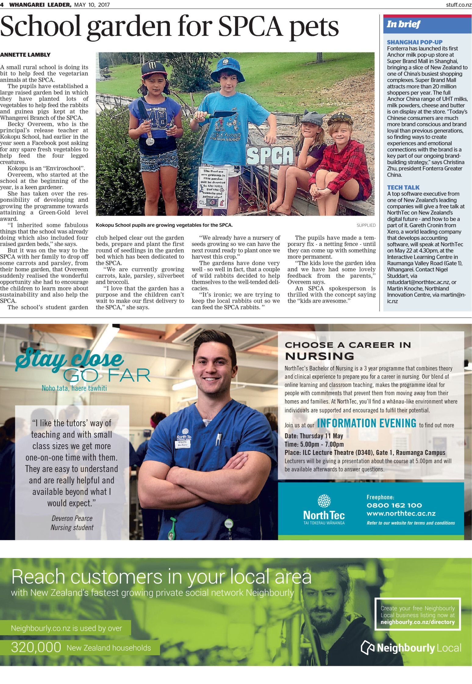 Newspaper Whangarei local