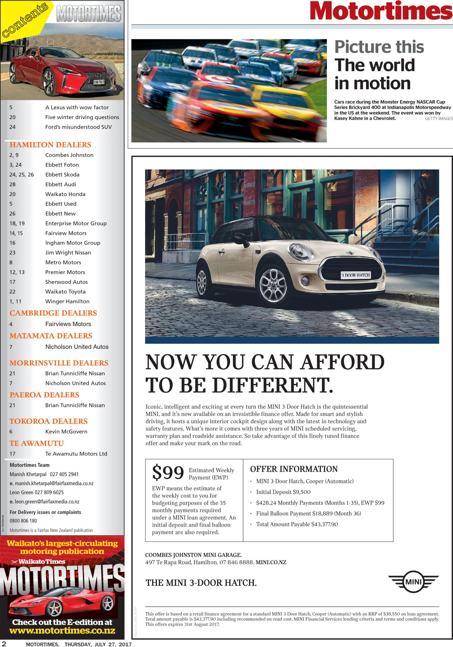 waikato motortimes read online on neighbourly