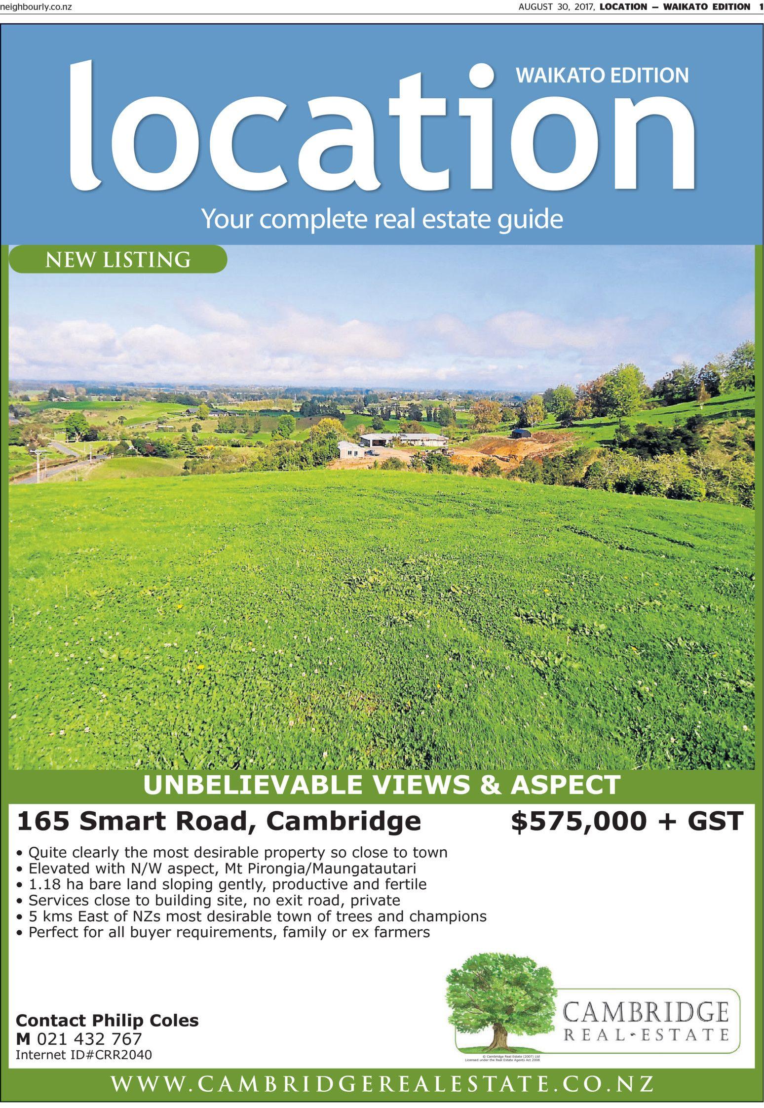 Location - Waikato - Read online on Neighbourly