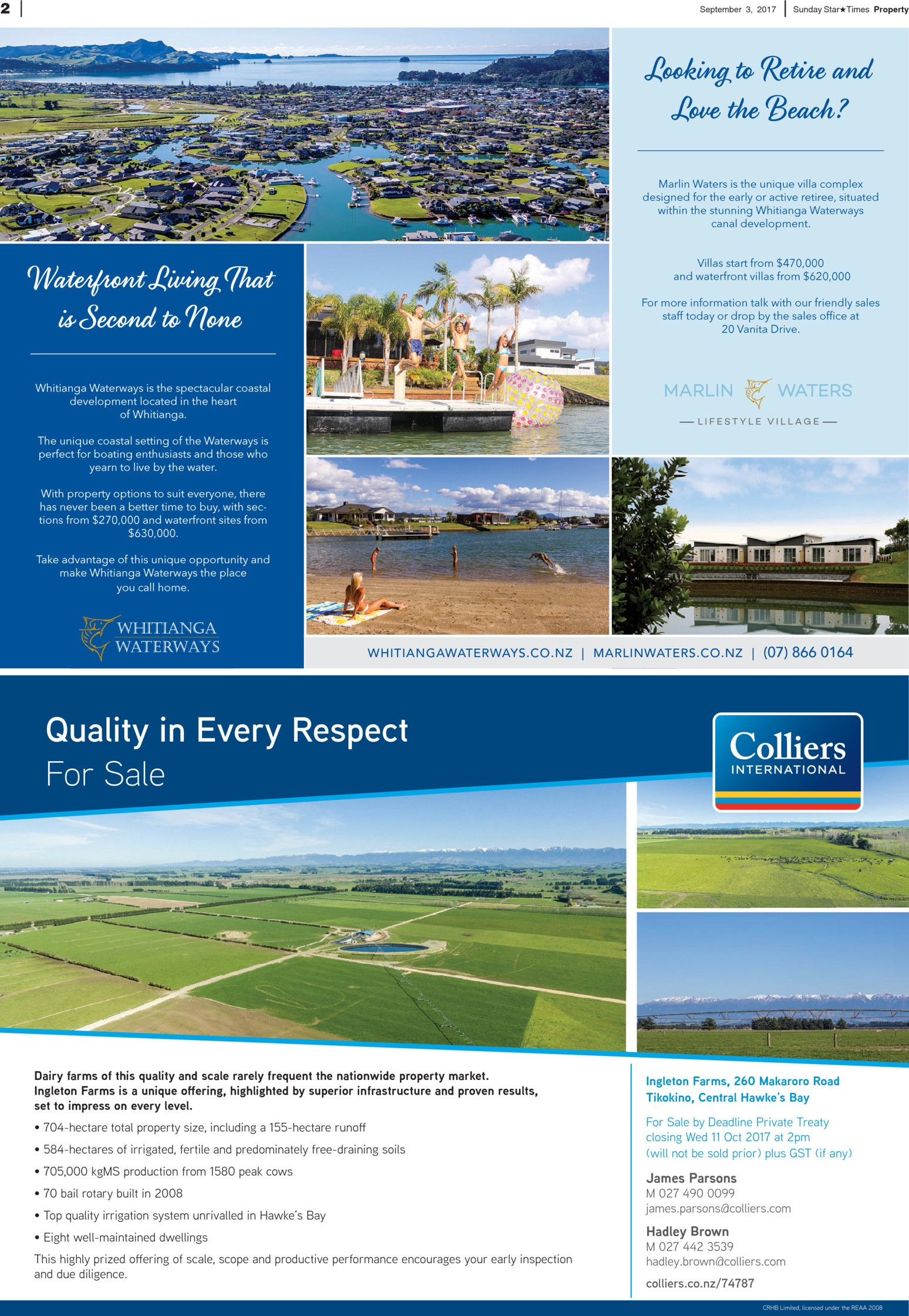 Sunday Star Times Lower North Island Real Estate - Read