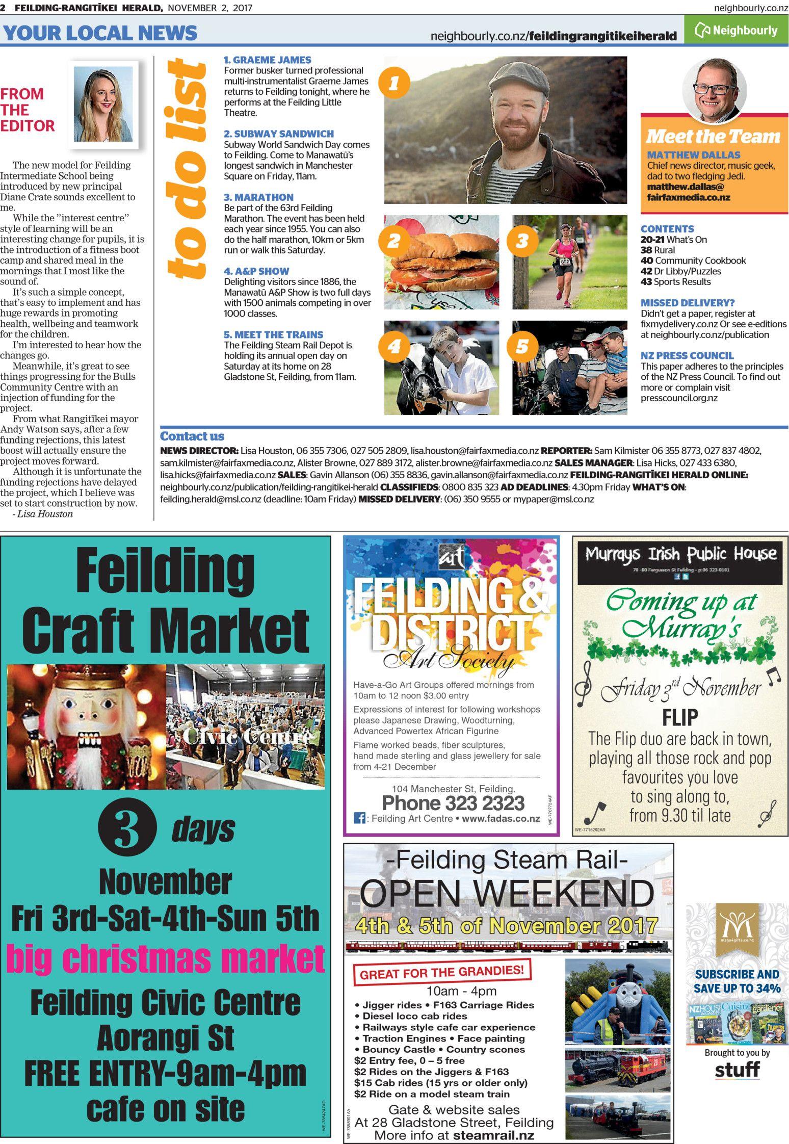 Feilding-Rangitīkei Herald - Read online on Neighbourly