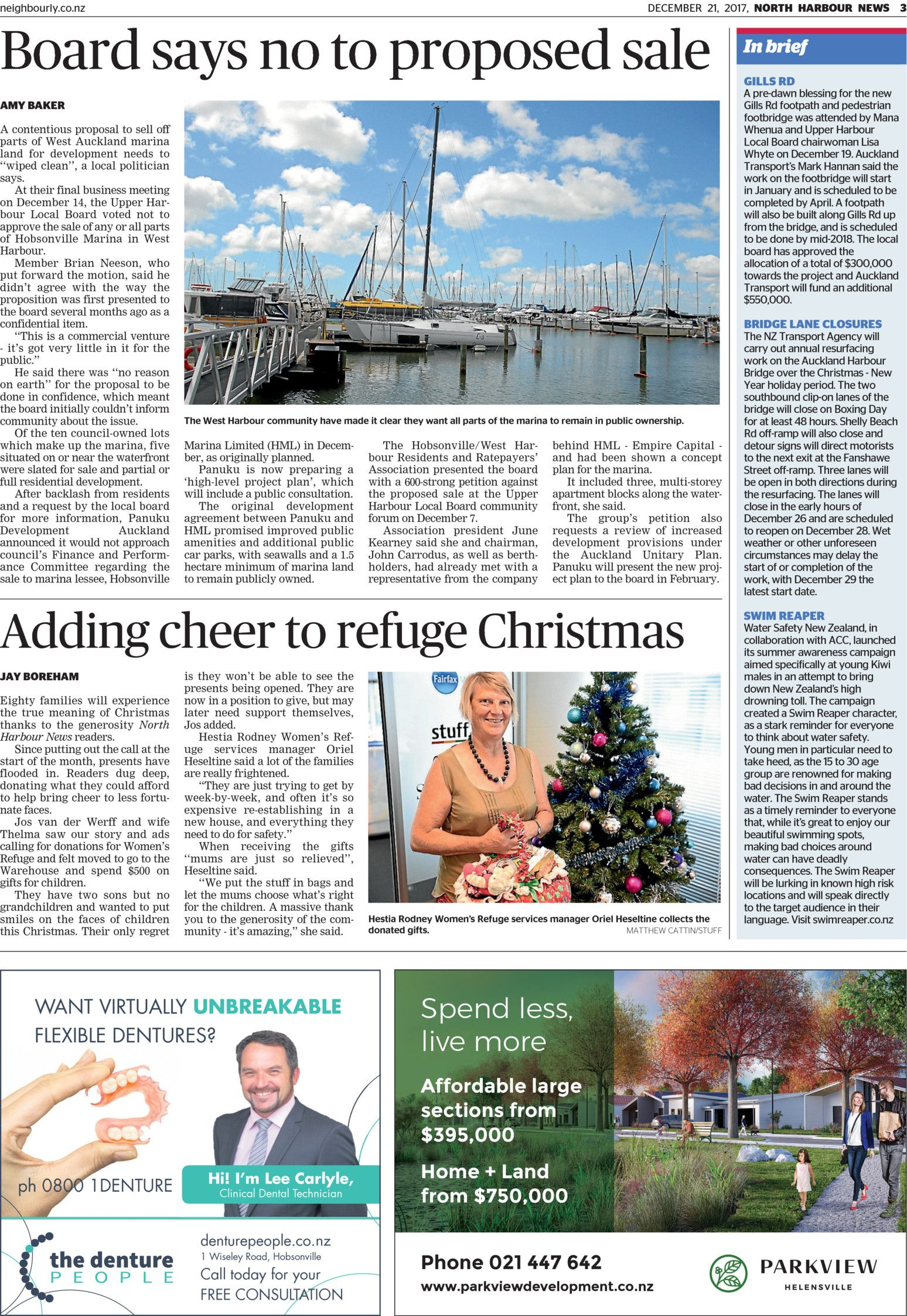 North Harbour News - Read online on Neighbourly