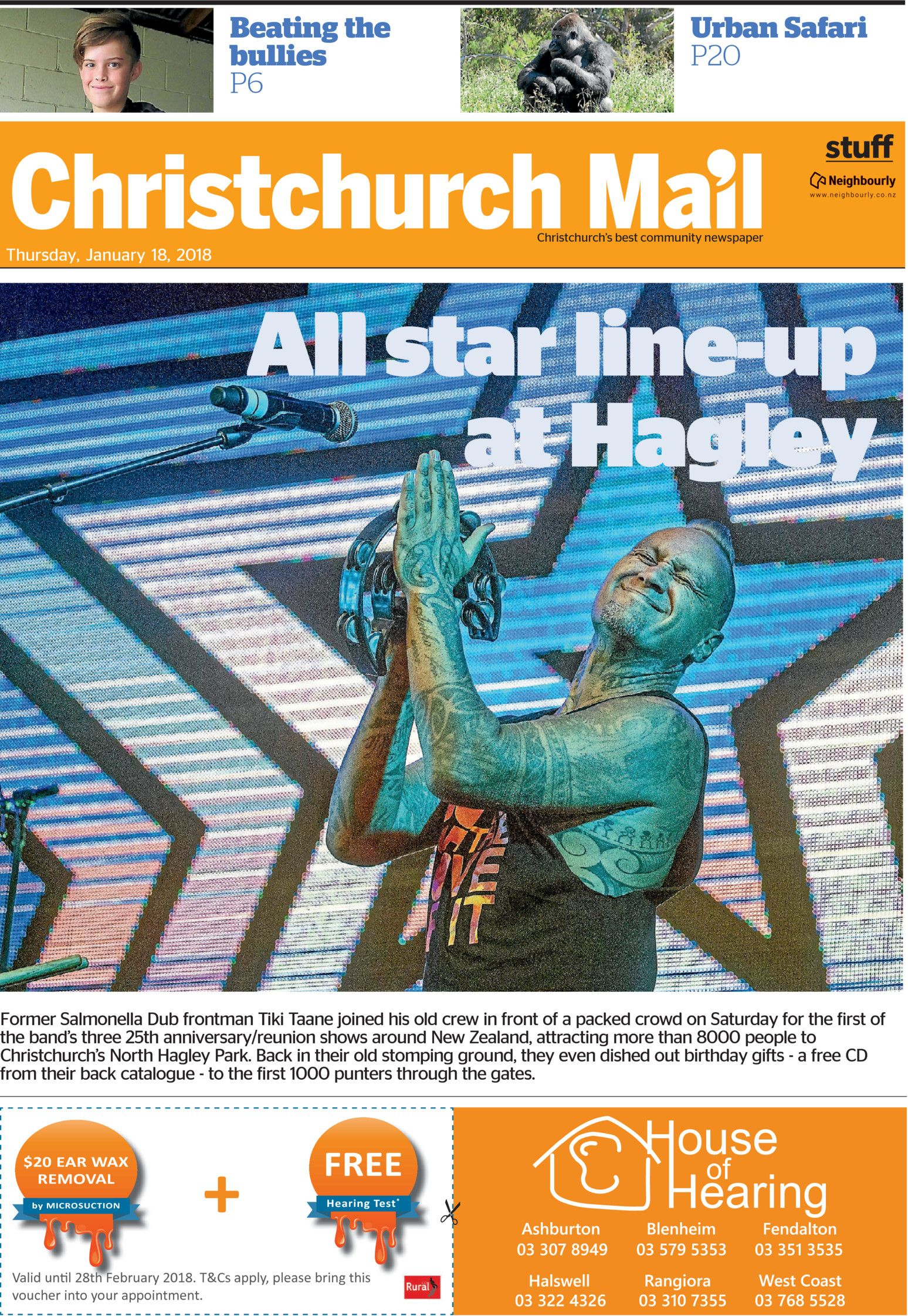 Christchurch Mail - Read online on Neighbourly