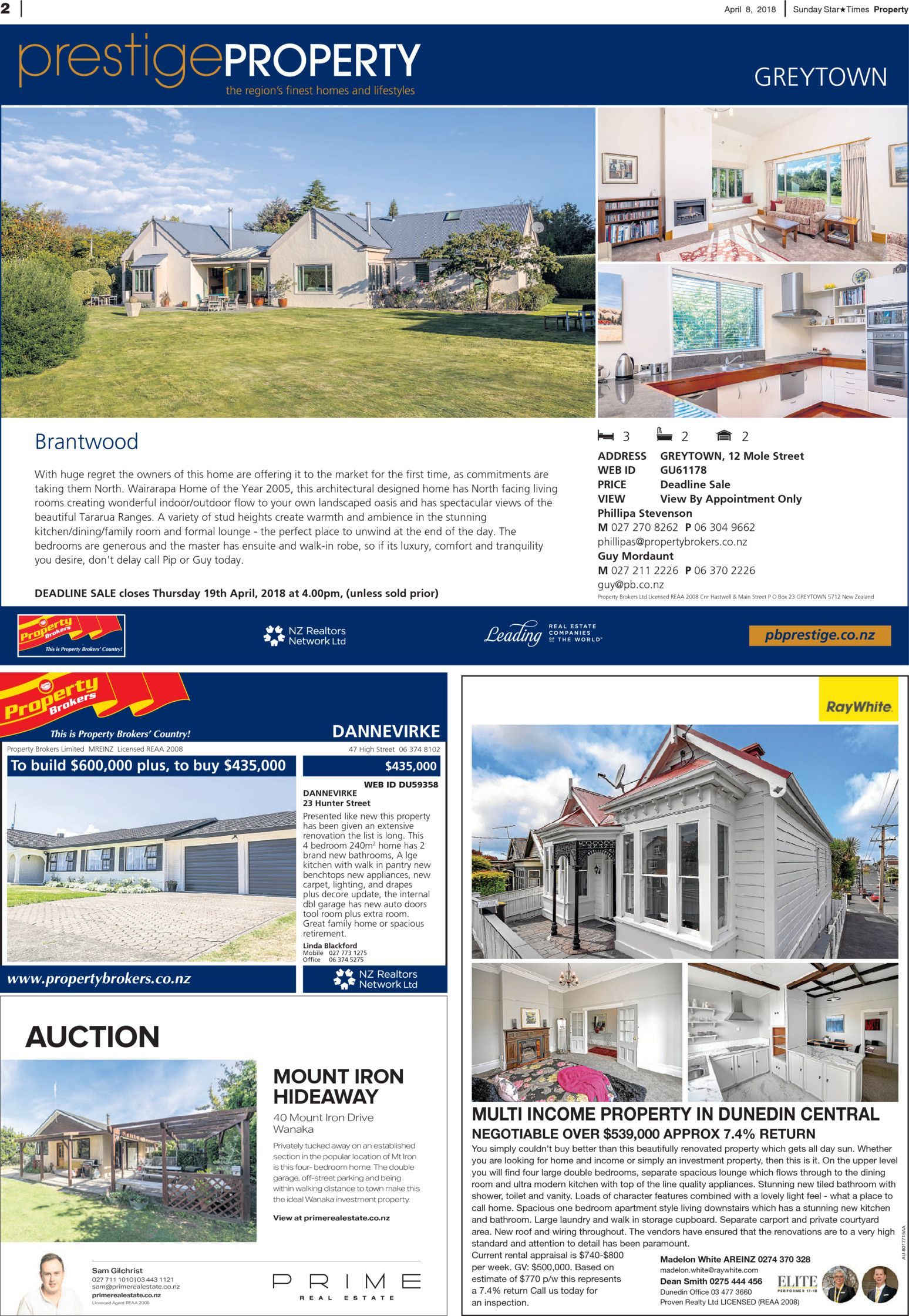 Sunday Star Times Lower North Island Real Estate Read Online On Wiring Box Nz Neighbourly
