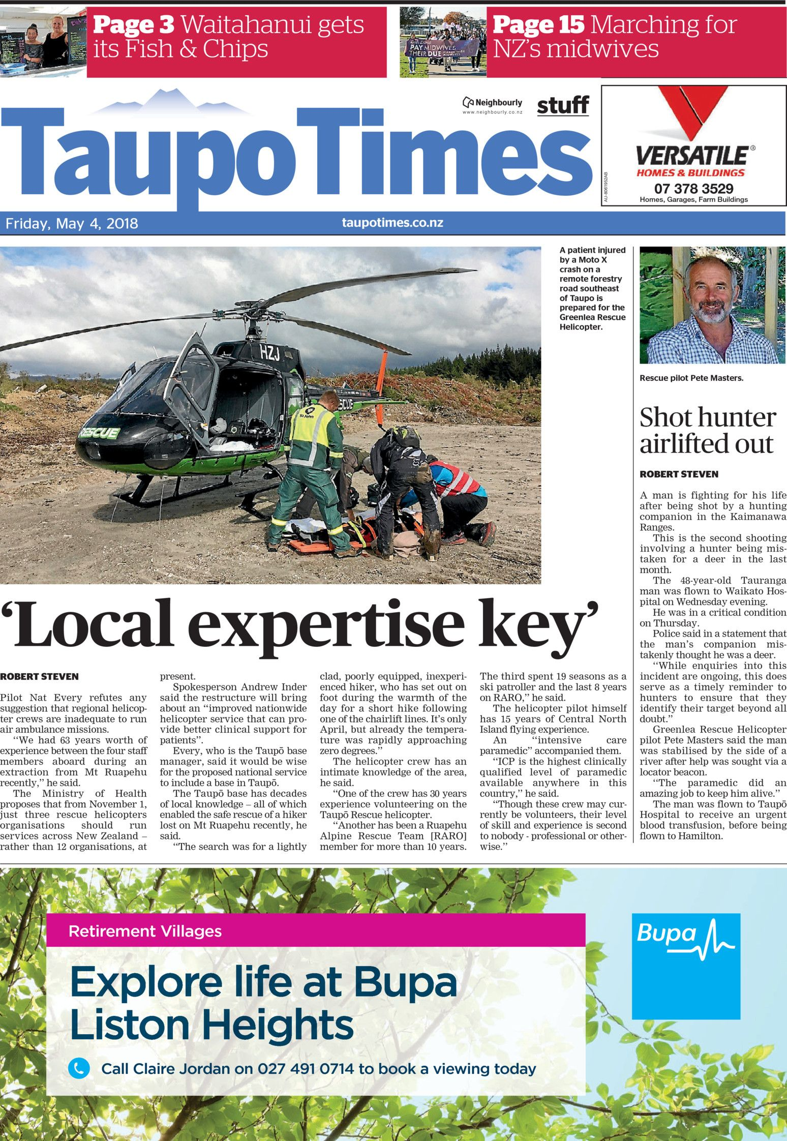 taupo times online
