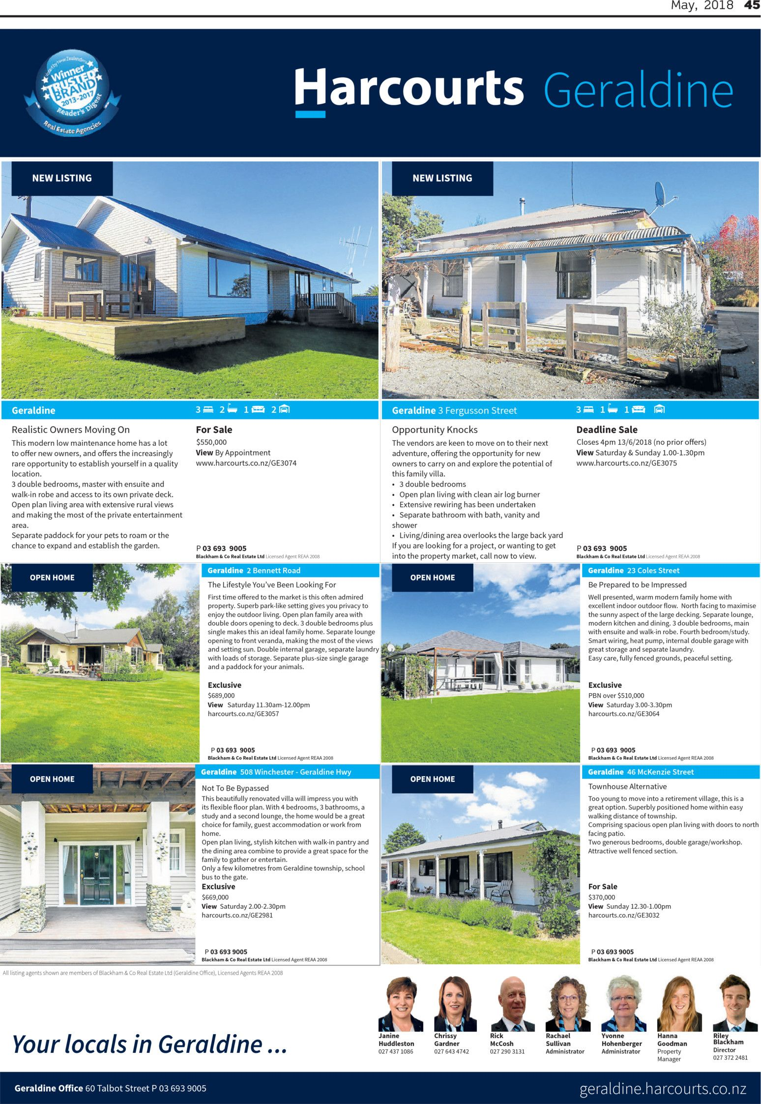 South Canterbury Herald Real Estate Read Online On Neighbourly Modern Residential Wiring