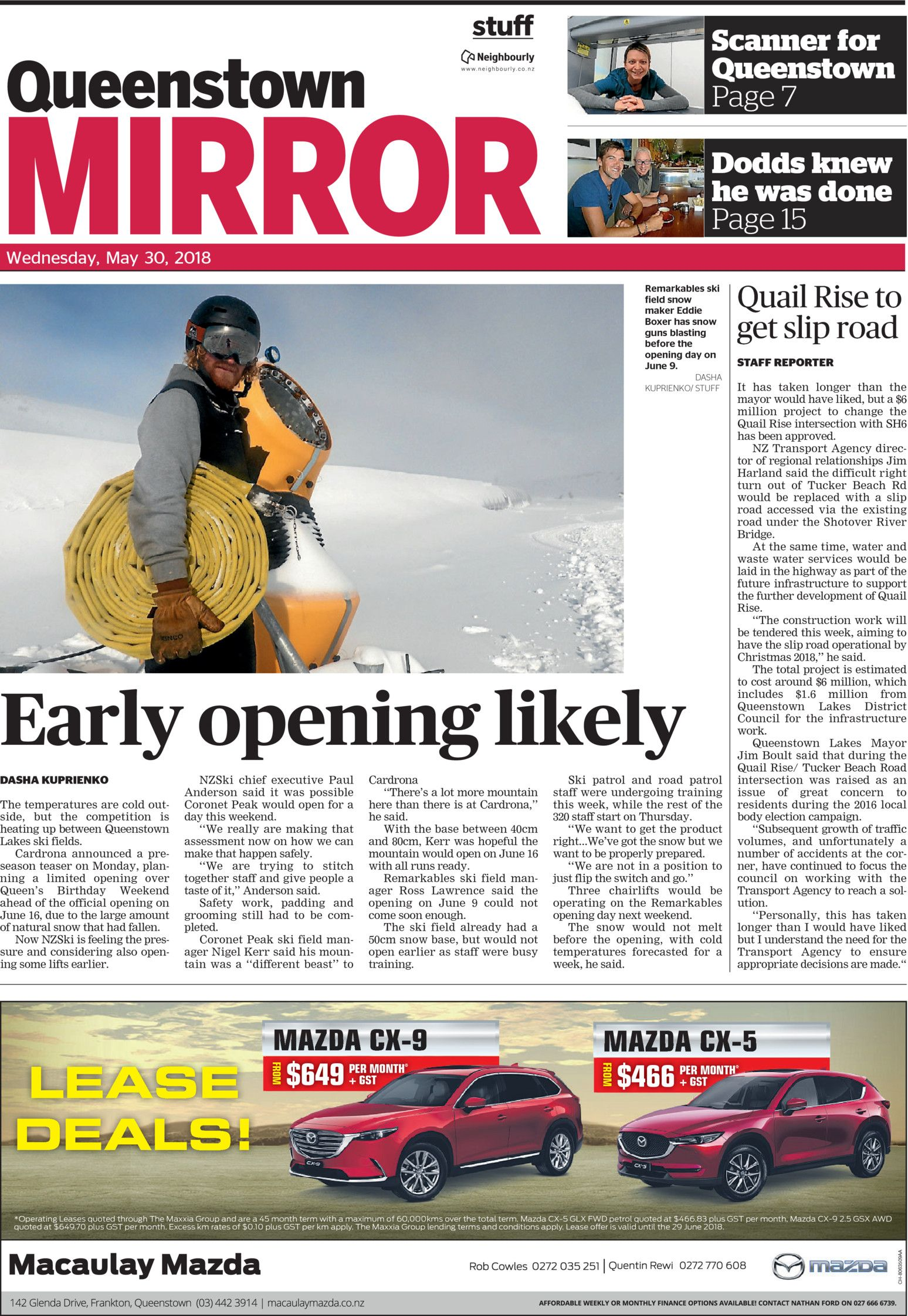 Queenstown News - Read online on Neighbourly