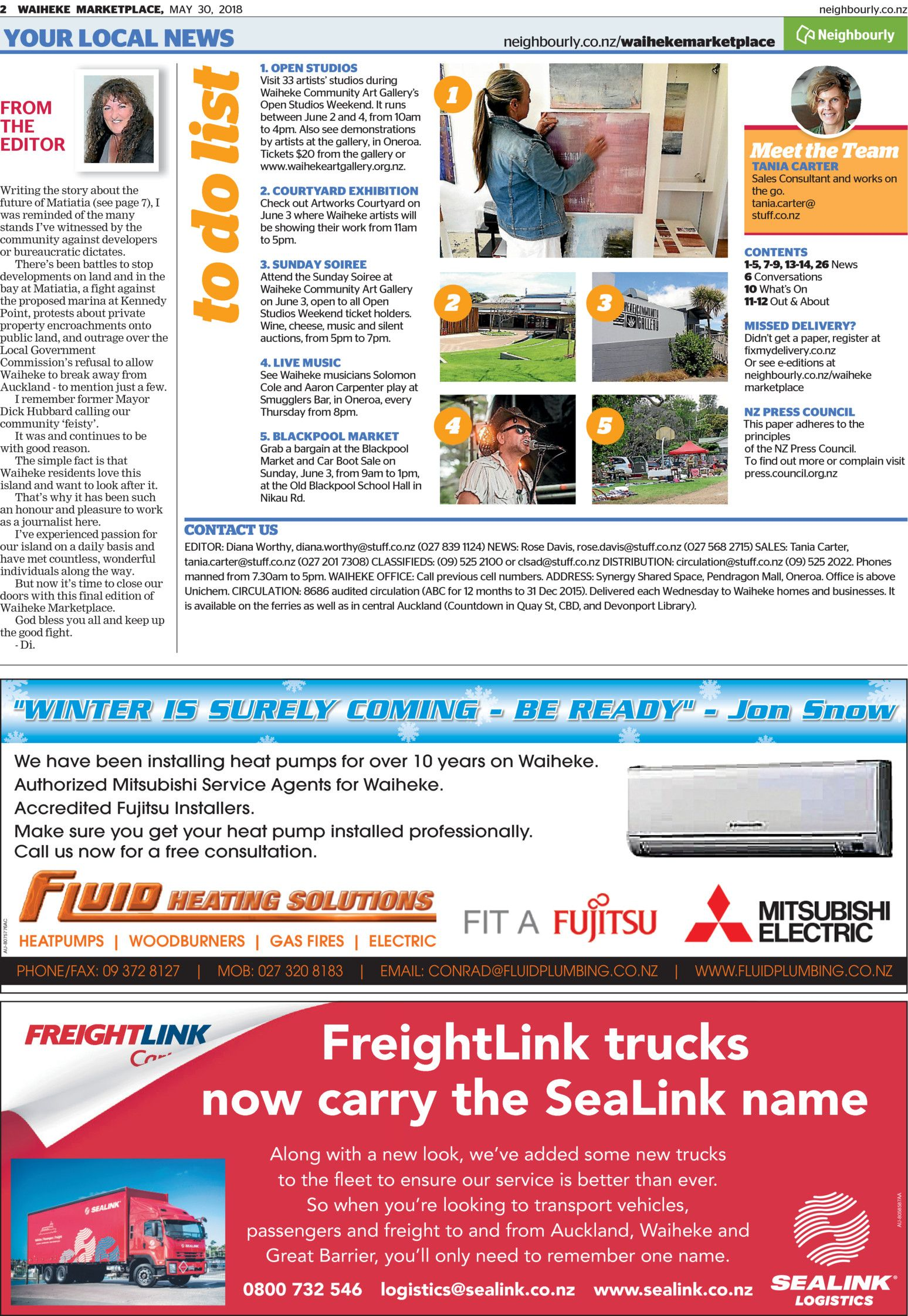 Waiheke Marketplace - Read online on Neighbourly