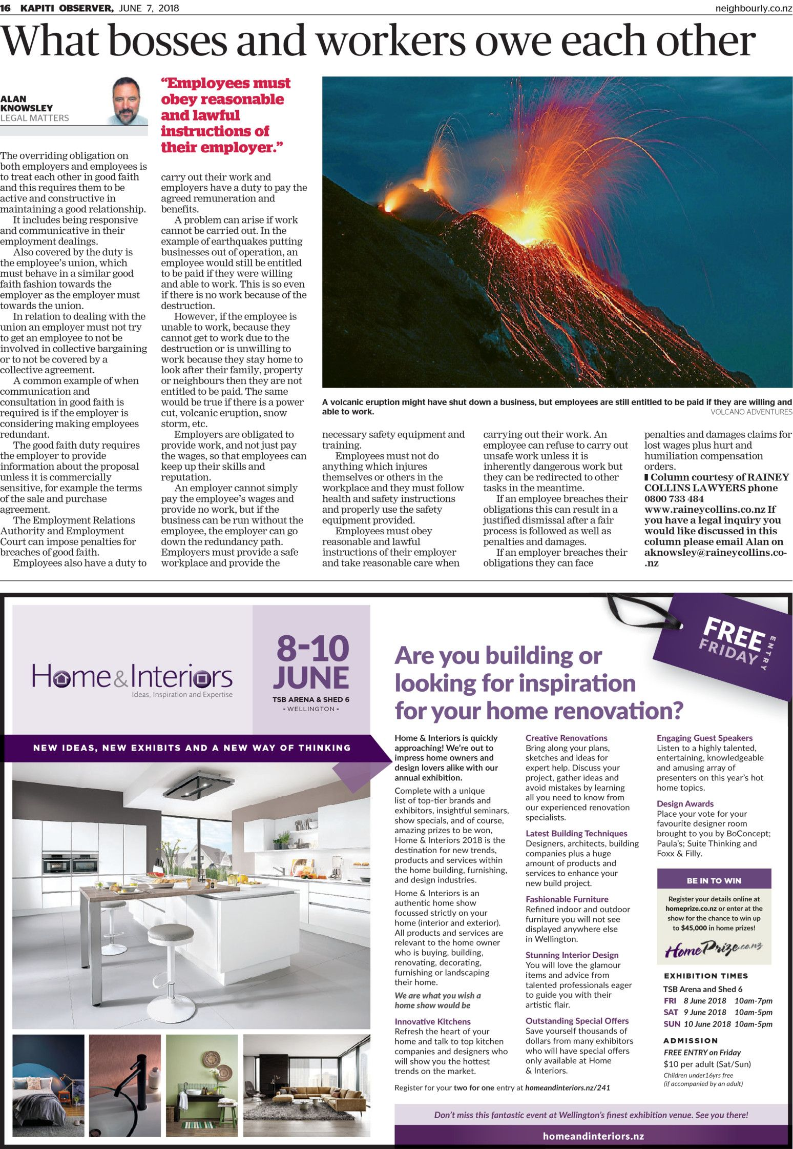 Kpiti Observer Read Online On Neighbourly Shield Volcano Diagram With Labels Quotes