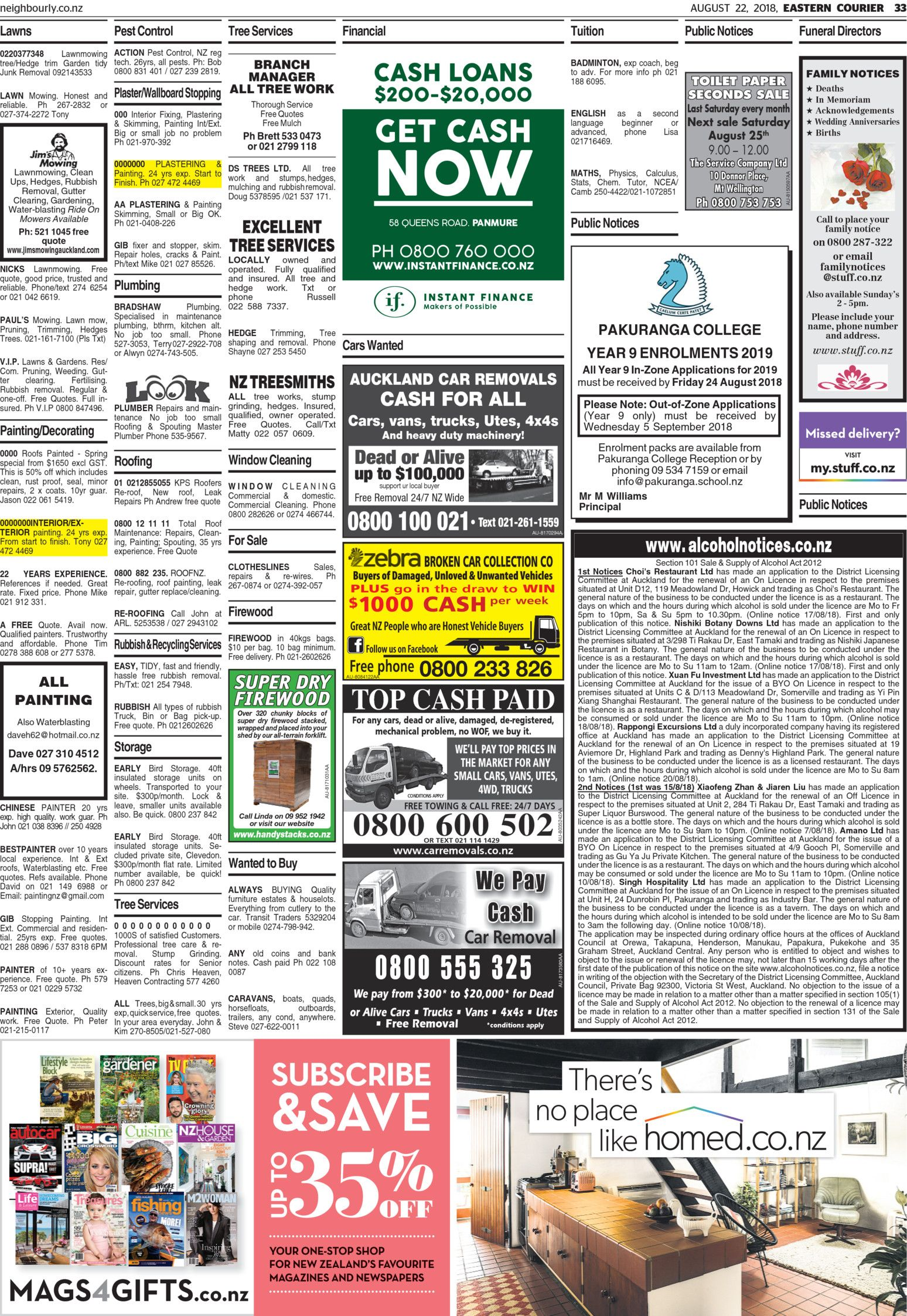 Eastern Courier - Read online on Neighbourly