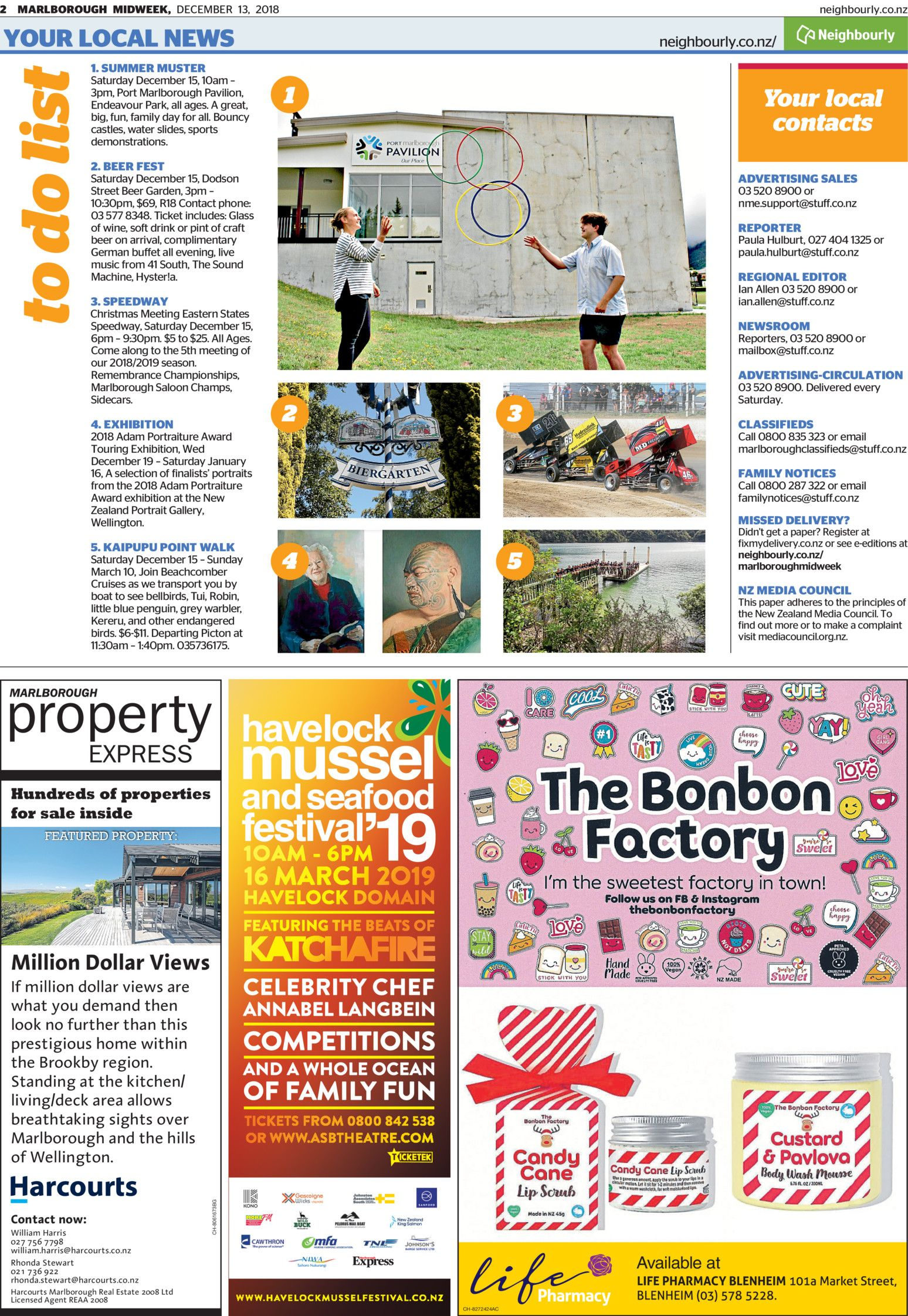 Marlborough Midweek Read online on Neighbourly