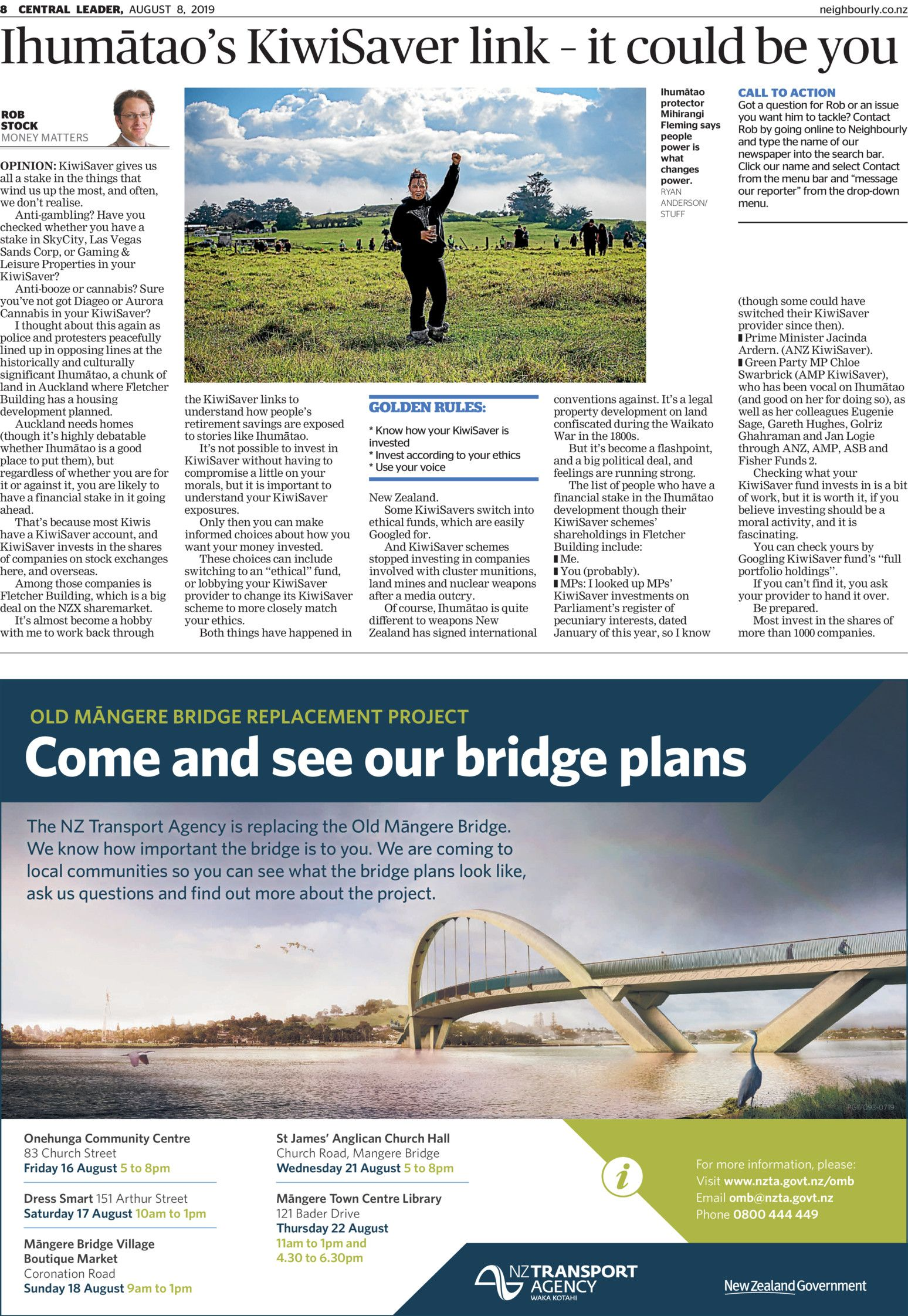 Central Leader - Read online on Neighbourly