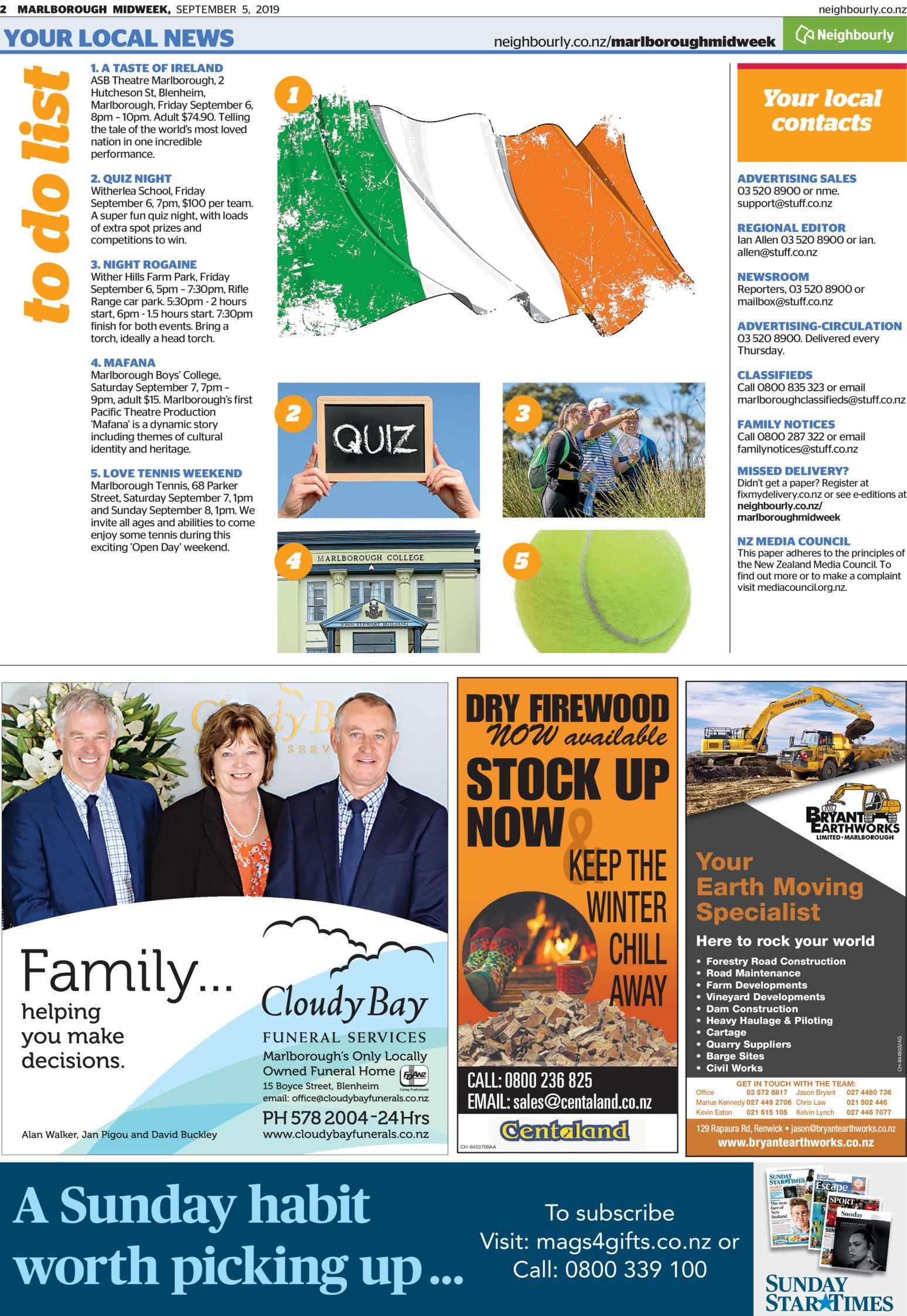 Marlborough Midweek - Read online on Neighbourly